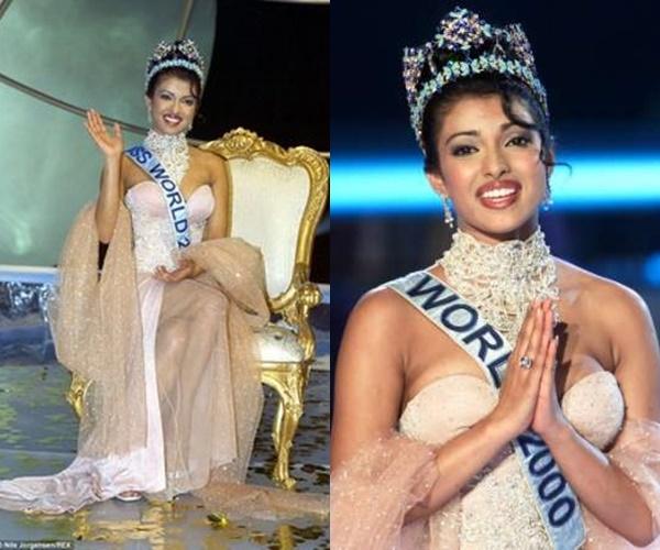 3 Hoa hậu Thế giới đến từ Ấn Độ (1994, 1997 và 2000) đều diện váy màu trắng đơn giản trong đêm thi quyết định.