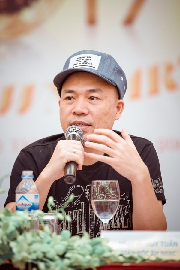 Nhạc sĩ Huy Tuấn - giám đốc âm nhạc của chương trình. - Tin sao Viet - Tin tuc sao Viet - Scandal sao Viet - Tin tuc cua Sao - Tin cua Sao