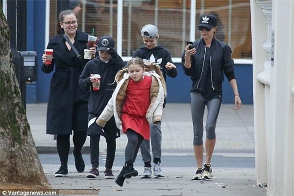 Harper Beckham được dự đoán trở thành người mẫu trong tương lai