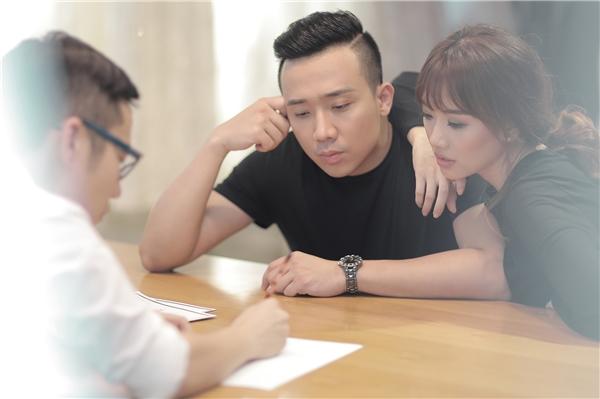 Hé lộ ảnh hậu trường Hari Won và Trấn Thành trong buổi chụp hình cưới - Tin sao Viet - Tin tuc sao Viet - Scandal sao Viet - Tin tuc cua Sao - Tin cua Sao
