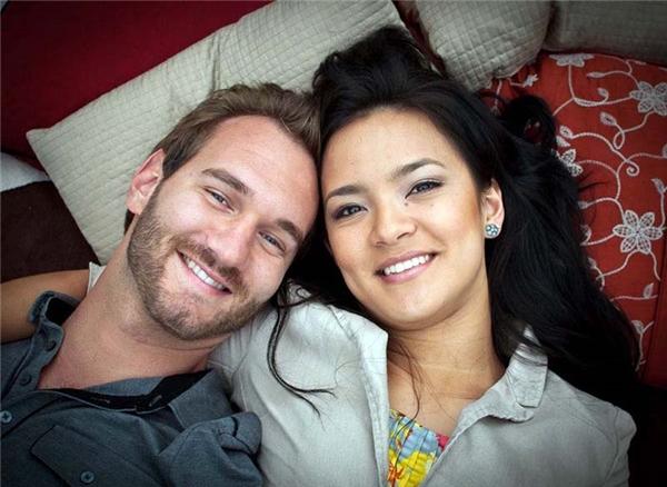 Những hình ảnh tình tứ của hai vợ chồng Nick và Kanae luôn khiến nhiều người phải trầm trồ.