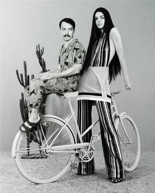 Một trong những bộ ảnh tuyệt đẹp chưa từng công bố của anh em nhà Jenner.
