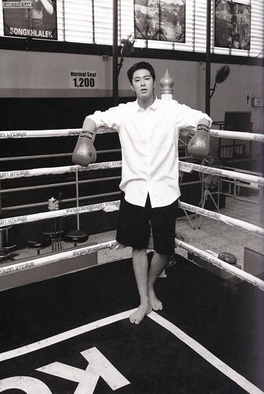 Yunho đã mang khí chấtcủa một lãnh đạo ưu tú từ trước. Hiện tại anh là một trong những thần tượng được đàn em ngưỡng mộ nhất.