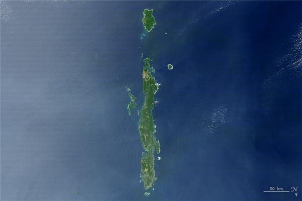 Chữ I: Quần đảo Andaman, một quần đảo ở vịnh Bengal, nằm giữa Ấn Độ và Myanmar