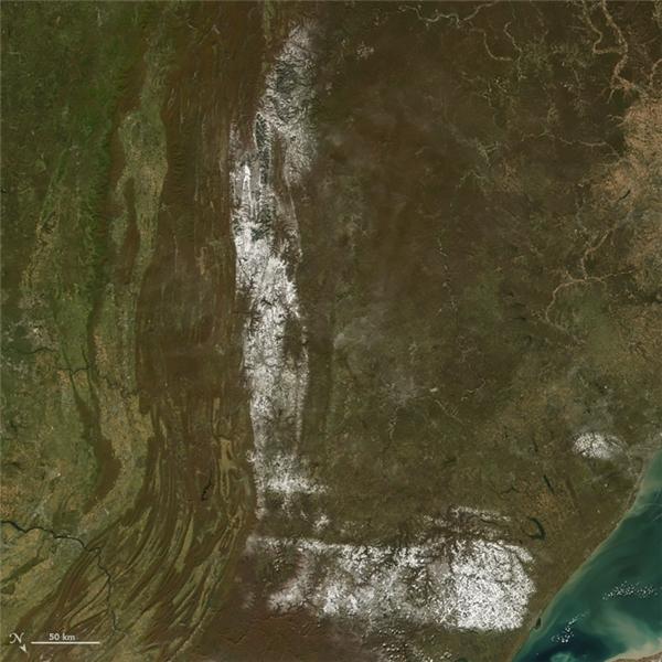 Chữ L:Một vùng đất phủ tuyết tại vùng đông bắc nước Mỹ