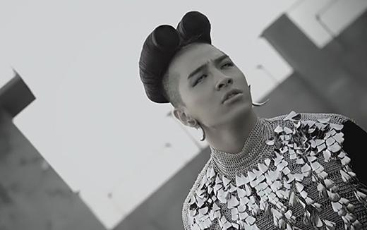 Hình tượng có phần hơi... khó giải thích của Taeyang.