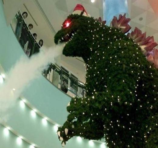 Godzilla có tâm nhất quả đất.
