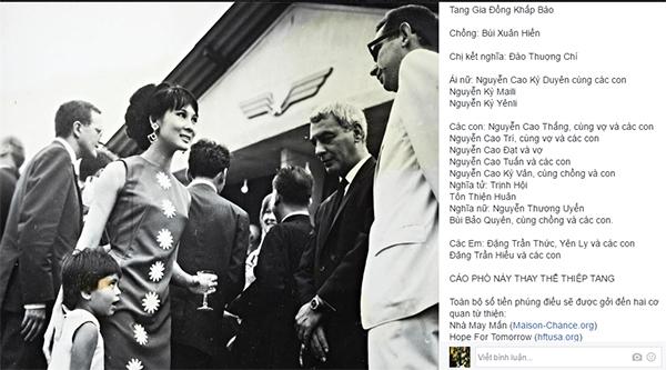 MC Kỳ Duyên dùng toàn bộ tiền phúng điếu mẹ ruột làm từ thiện - Tin sao Viet - Tin tuc sao Viet - Scandal sao Viet - Tin tuc cua Sao - Tin cua Sao