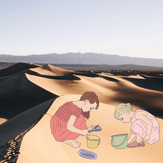 Cùng chơi cát nào!