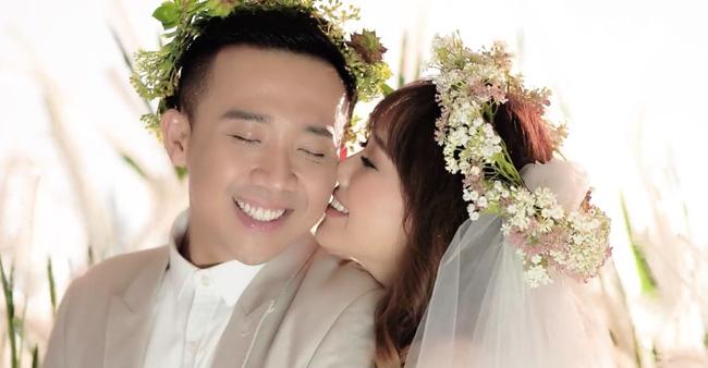 Lộ diện váy cưới đính hàng nghìn viên pha lê lộng lẫy của Hari Won