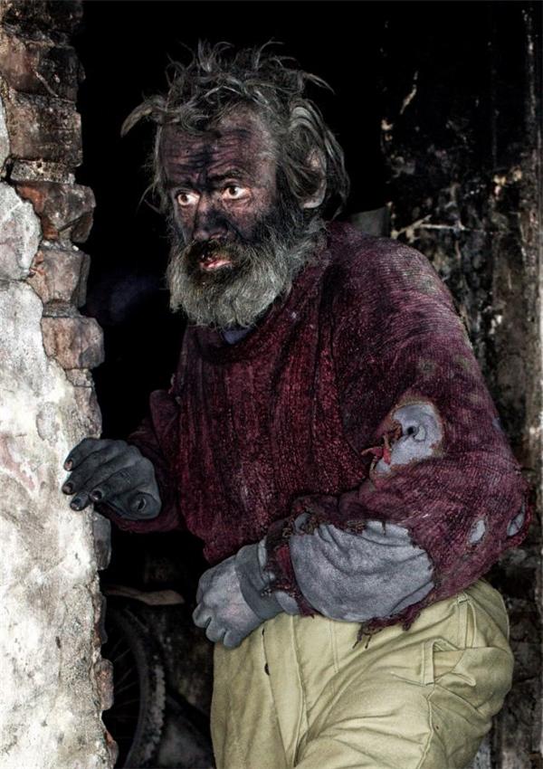 Ông Ludvik Dolezal được mệnh danh là người đàn ông ở bẩn nhất châu Âu vì cả đời không tắm gội.