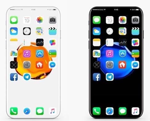 Mẫu concept iPhone 8 của iDropNews. (Ảnh: internet)