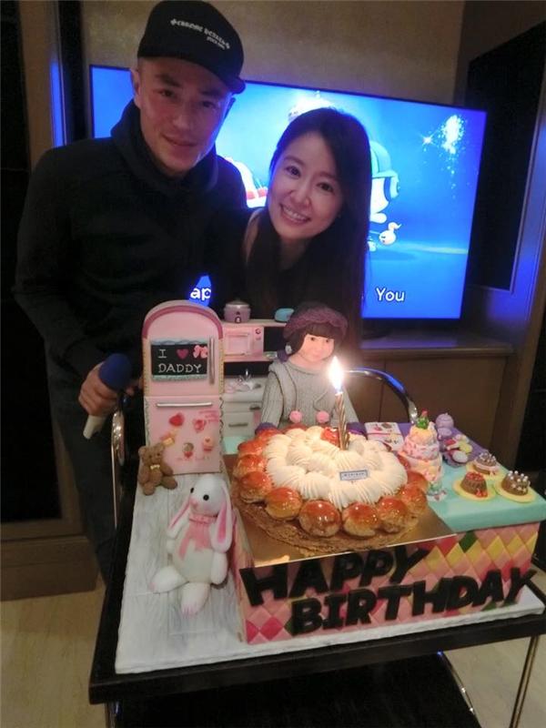 Hoắc Kiến Hoa đã bí mật về Đài Loan cùng đón sinh nhật với Lâm Tâm Như.