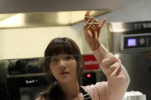 Bánh cây thông Taeyeon làm xinh chưa này!