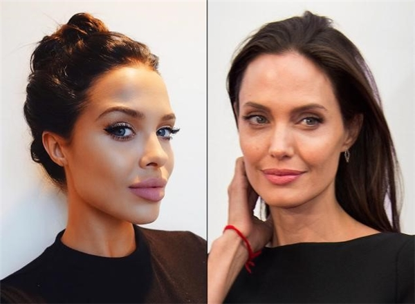 """Angelina Jolie phiên bản 9x""."