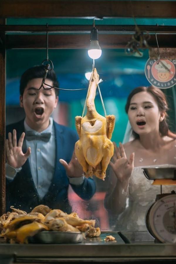 """Bộ ảnh cưới của Max – Min hiện đang đã """"gây sốt"""" cộng đồng mạng, hứa hẹn trở thành một trong những trào lưu mới thay thế cho """"Follow me""""."""