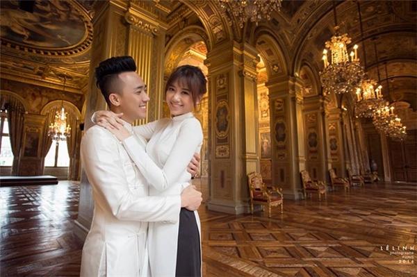 Trước đó, Trấn Thành và bà xã Hari Won cũng đã chia sẻ bộ ảnh cưới đầy lãng mạn và ngọt ngào được chụp tại Paris (Pháp). - Tin sao Viet - Tin tuc sao Viet - Scandal sao Viet - Tin tuc cua Sao - Tin cua Sao