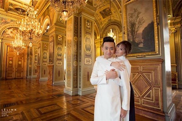 Loạt biểu cảm không thể không yêu của Hari Won bên chú rể Trấn Thành - Tin sao Viet - Tin tuc sao Viet - Scandal sao Viet - Tin tuc cua Sao - Tin cua Sao