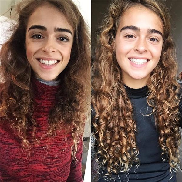 Không chỉ lấy lại đượcvẻ đẹp tuổi trẻ ngày nào, mái tóc của cô cũng trở nên bóng khỏe và dày hơn hẳn.