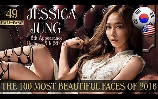 So với những lần được TC Candler bình chọn trước đó, vị trí lần này của cựuthành viên SNSD - Jessicađạt được làở giữa bảng xếp hạng.thứ hạng cao nhất Jessica Jung đạt được là hạng 5 vào năm 2012.