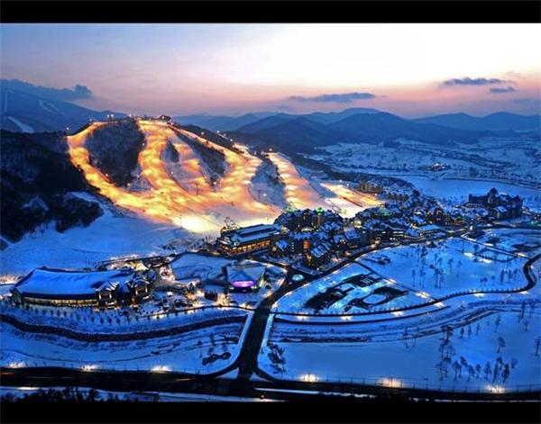 Alpensia Ski Resort.