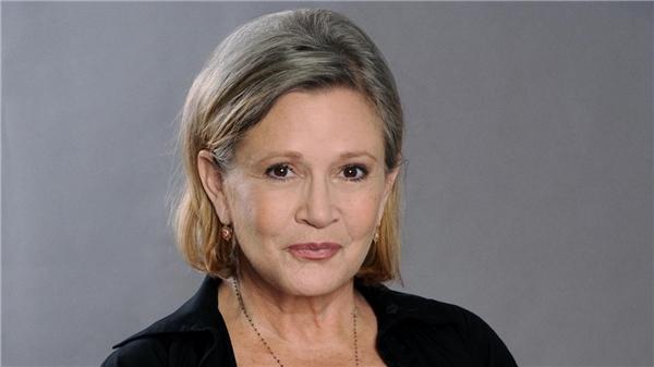 Chân dung của nữ diễn viên, biên kịch nổi tiếngCarrie Fisher.
