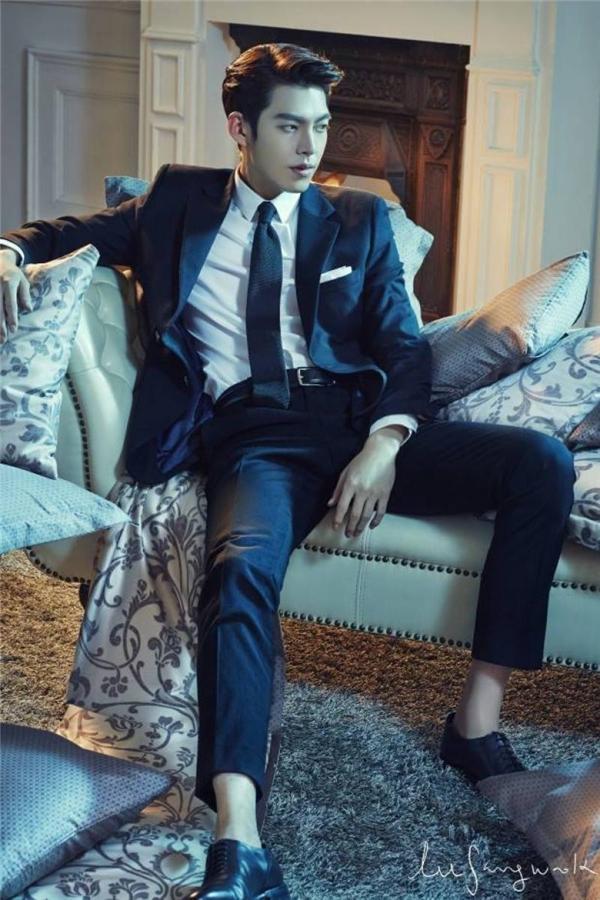 Woo Bin gây ấn tượng với các vai diễn bad boy phóng khoáng.