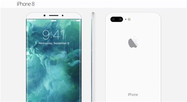 Những bản dựng về iPhone 8 như thế này có thể sẽ không trở thành hiện thực trong năm 2017. (Ảnh: internet)