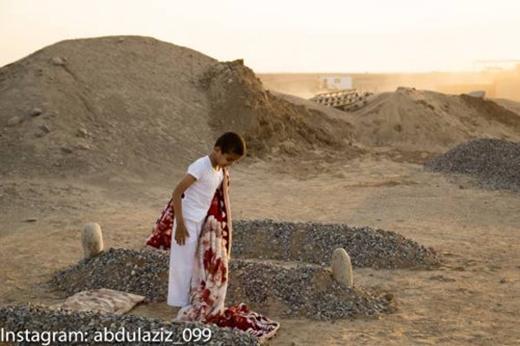 Sự thật là tấm ảnh thuộc một dự án nghệ thuật của một nhiếp ảnh gia tại Ả Rập Saudi.