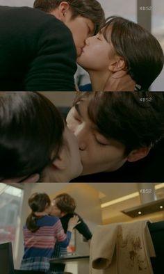 Sao Hàn sau cảnh khóa môi nồng cháy: Người đỏ mặt - Kẻ không cảm xúc