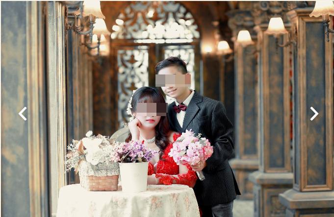 Loạt ảnh của cặp đôi được rất nhiều bạn trẻ chú ý.(Ảnh: Chụp màn hình)