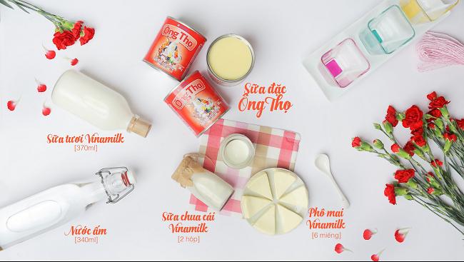 Cách làm món ya-ua phô mai mềm mịn, ngậy thơm hấp dẫn lại rất dễ thực hiện.