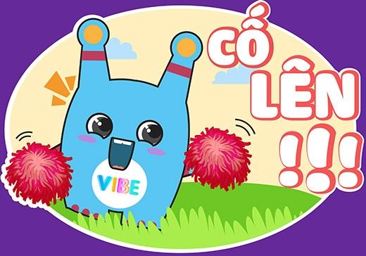 YAN Vibe sticker hứa hẹn sẽ dẫn đầu xu hướng sử dụng hình ảnh để thể hiện cảm xúc với cộng đồng người dùng Viber.