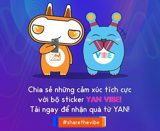 Bộ sticker của Yan và Viber đạt mốc kỷ lục chỉ sau tuần đầu tung ra