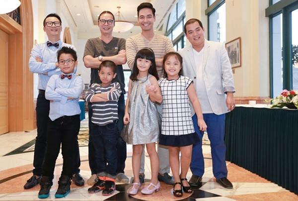 Chương trình có sự tham gia của nhiều cặp bố con nghệ sĩ.