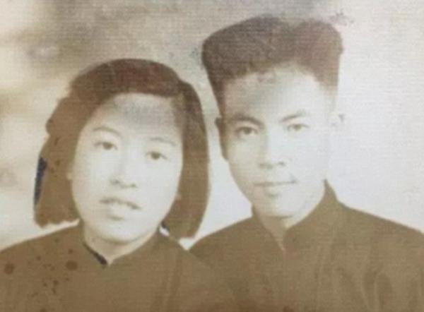 Hình ảnh của hai vợ chồng khi còn trẻ. (Ảnh: Internet)