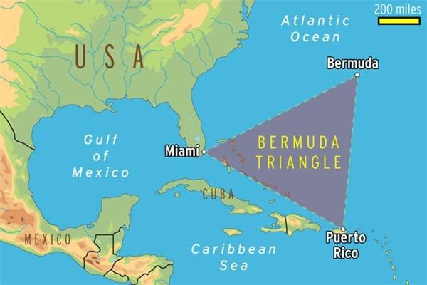 Tam Giác Quỷ Bermuda, vùng biển tử thần của mọi thuyền bè và máy bay suốt nhiều thế kỷ qua.