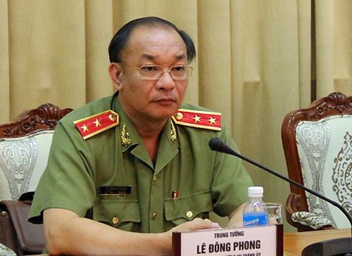 Trung tướng Lê Đông Phong - Giám đốc Công an TP.HCM. (Ảnh: internet)