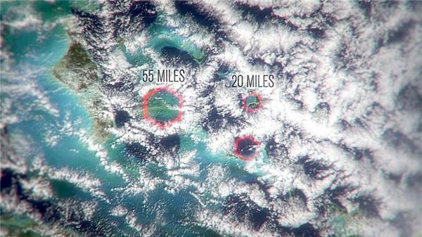 Thủ phạm chính là những đám mây có hình lục giác khổng lồ rộng từ 30 đến 88km?