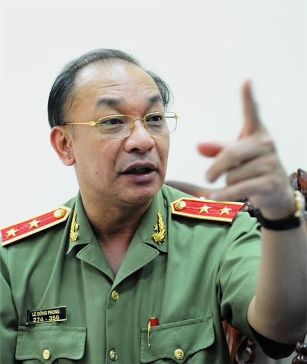 Trung tướng Phong cho biết sẽ tăng cường các lực lượng đặc nhiệm để trấn áp tội phạm. (Ảnh: internet)
