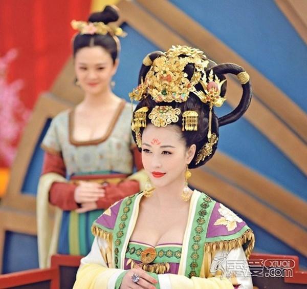 Nhan sắc trẻ trung của Châu Hải My khi tham gia Võ Tắc Thiên truyền kỳ.