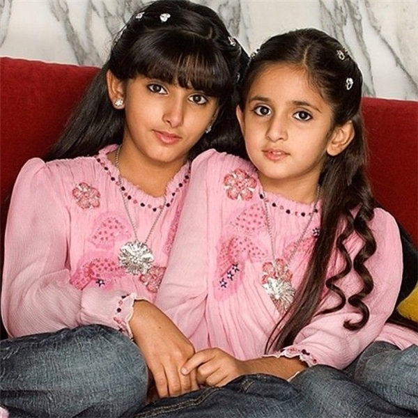 Hai công chúaShammavàSalamavô cùng thân thiết với nhau.