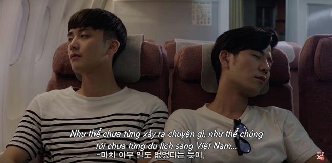 Nhóm bạn rời Việt Nam, quay trở về Hàn Quốc.