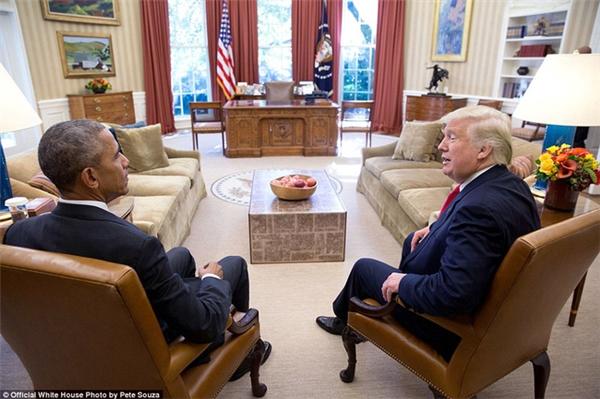 Ông Obama trò chuyện với tân Tổng thống Donald Trump hai ngày sau khi cuộc bầu cử kết thúc.