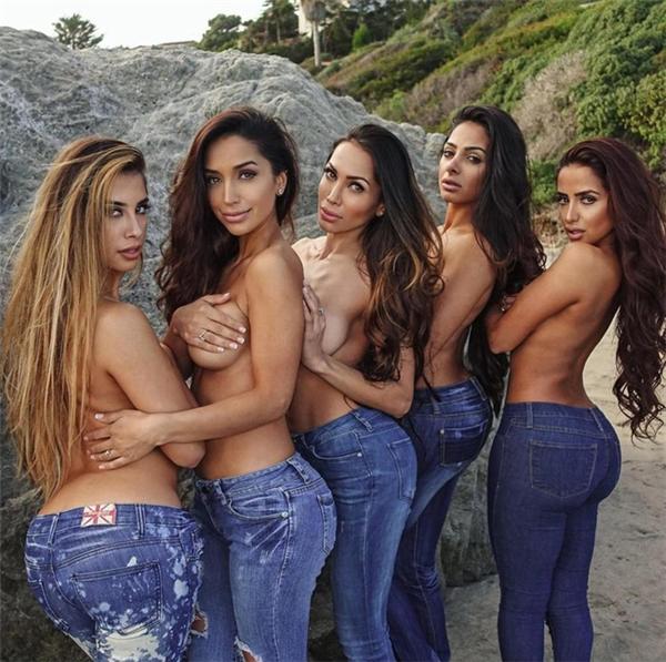 Trong hoạt động quảng bá cho Drip Doctors, chị em nhà Sozahdah đã chụp một tấm ảnh bán khoả thân, với quần jeans bó sát và không mặc áo. Những chị em của Jamila còn có nét đẹp hơn hẳn cô chị bác sĩ.