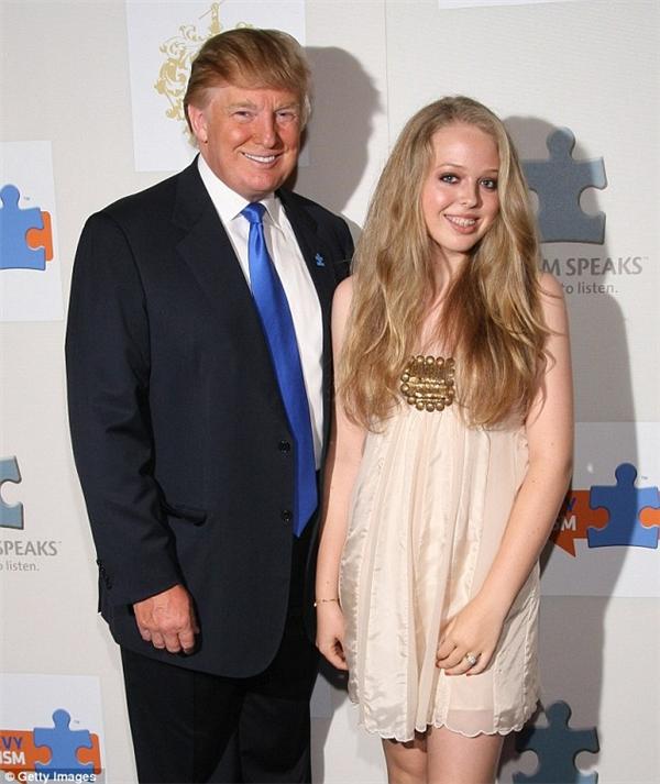 Ông Trump rất tự hào về thành tích đại học của con gái út Tiffany.