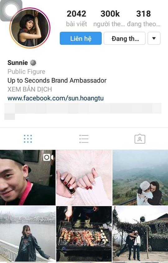 Cô hot girl Hà thành có hơn 300.000 người theo dõi.(Ảnh: Internet)