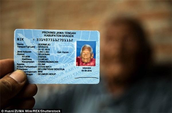 Nếu đúng với những gì trên chứng minh nhân dân thì cụ Gotho là người già nhất thế giới.