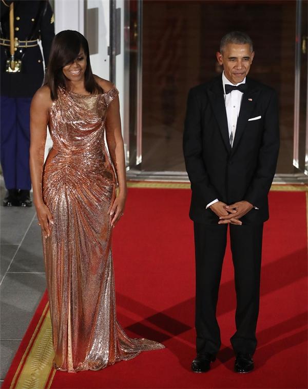 Ngắm bộ ảnh chất lừ của phu nhân Obama trước khi rời Nhà Trắng