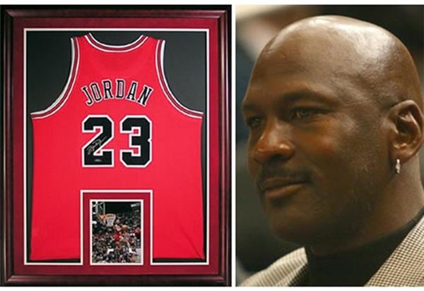 Siêu sao bóng rổ Jordan.
